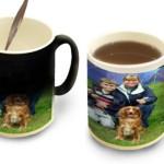 colour change photo mug