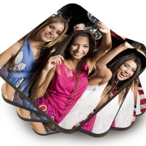 personalised tableware photo coasters