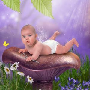 Forest Floor - Baby Photos
