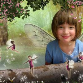Cottingley Fairies Fairy Photo