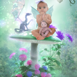 Dragons & Fairies Fairy Photo