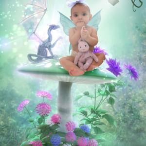 Dragons & Fairies Fairy Photo